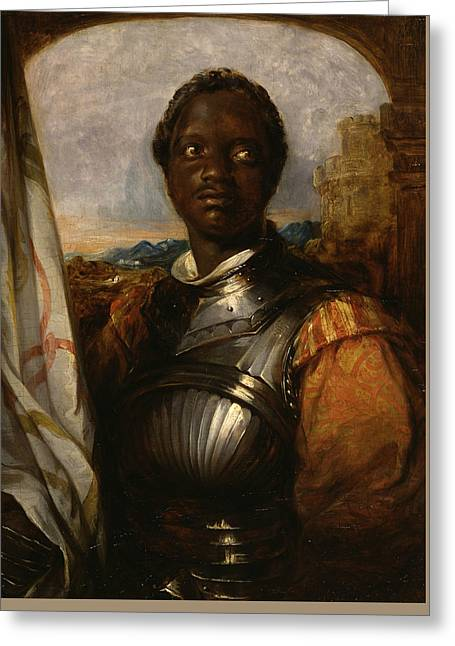 Othello Greeting Card by William Mulready