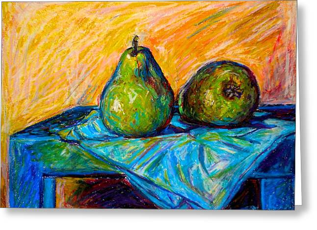 Other Pears Greeting Card by Kendall Kessler