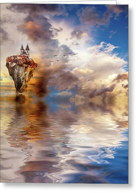Other Worlds Greeting Card by Jacky Gerritsen