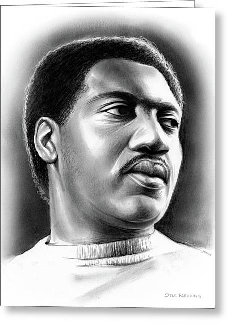 Otis Redding Greeting Card