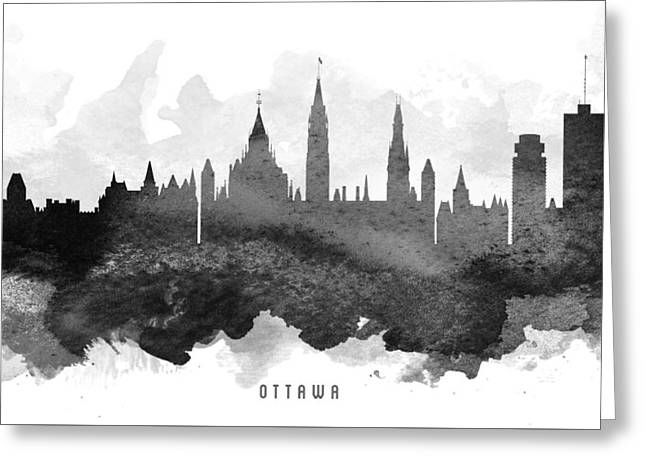 Ottawa Cityscape 11 Greeting Card