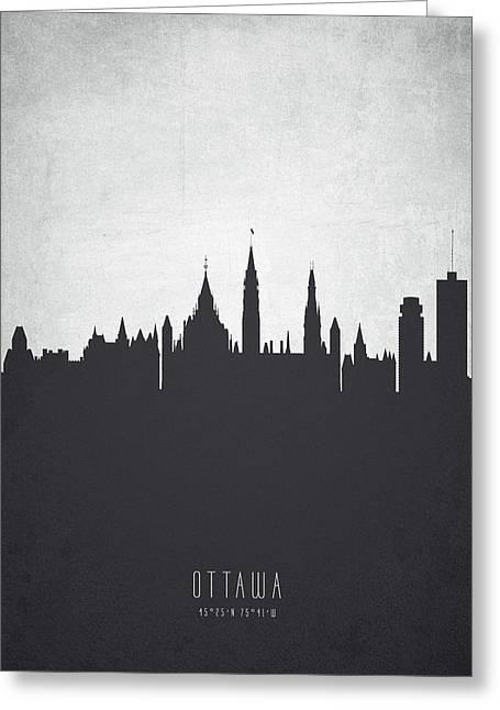 Ottawa Ontario Cityscape 19 Greeting Card