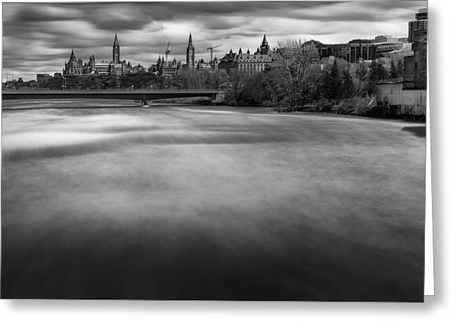 Ottawa Spring Flood Greeting Card