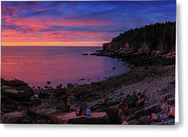 Greeting Card featuring the photograph Otter Beach Maine Sunrise  by Emmanuel Panagiotakis