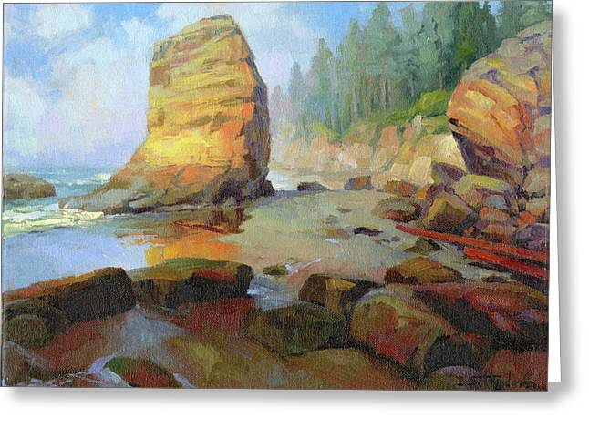 Otter Rock Beach Greeting Card