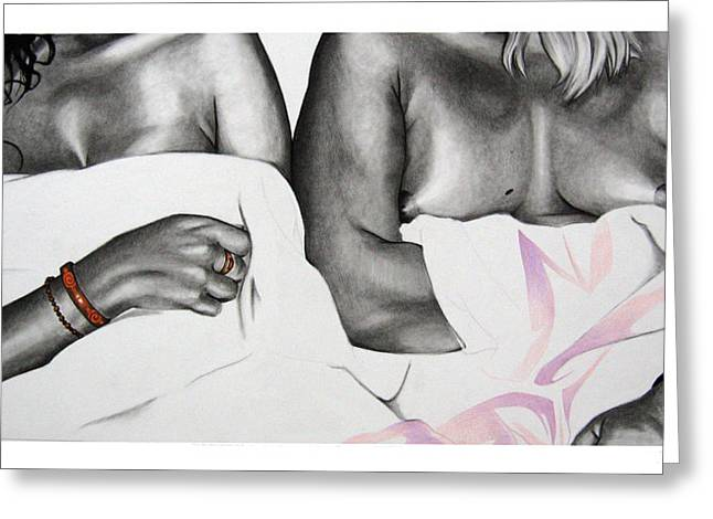 Our Ladies Greeting Card by John-Clayton Wilson