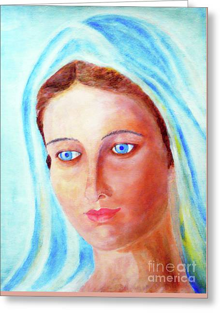 Our Lady Greeting Card