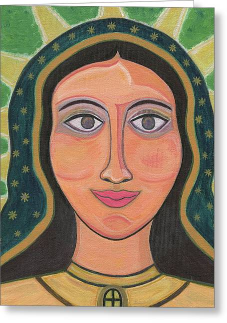 Our Lady Of Guadalupe Greeting Card by Danielle Tayabas