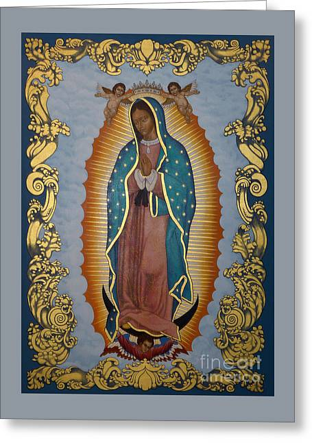 Our Lady Of Guadalupe - Lwlgl Greeting Card
