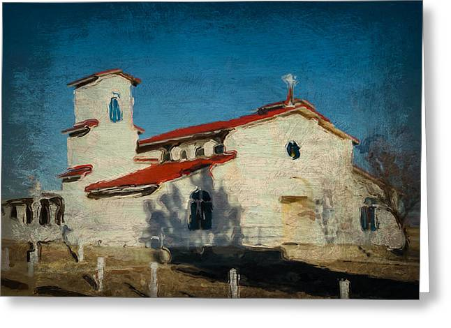 Our Lady Of La Salette Mission Paint Greeting Card