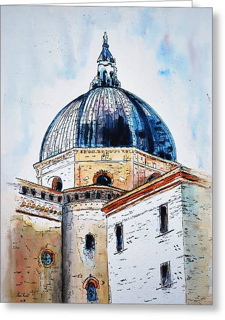Our Lady Of Loreto I Greeting Card by Neva Rossi