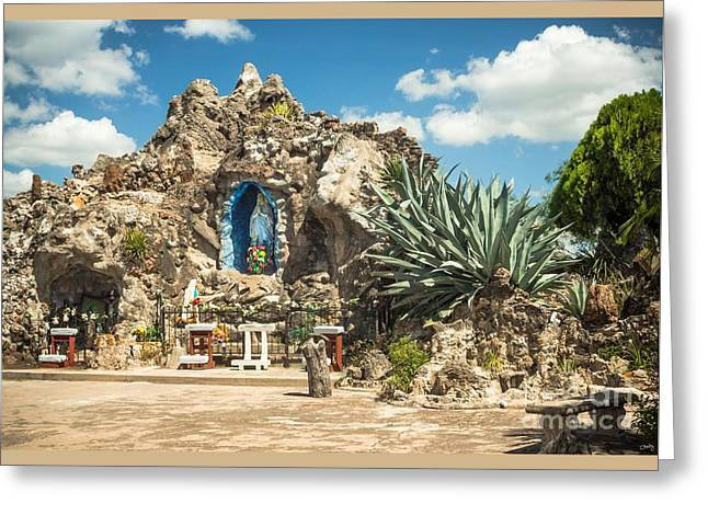 Our Lady Of Lourdes Grotto Greeting Card