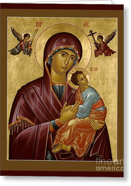 Our Lady Of Perpetual Help - Rloph Greeting Card