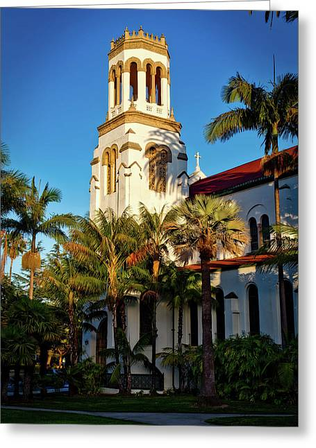Our Lady Of Sorrows Church - Santa Barbara California Greeting Card