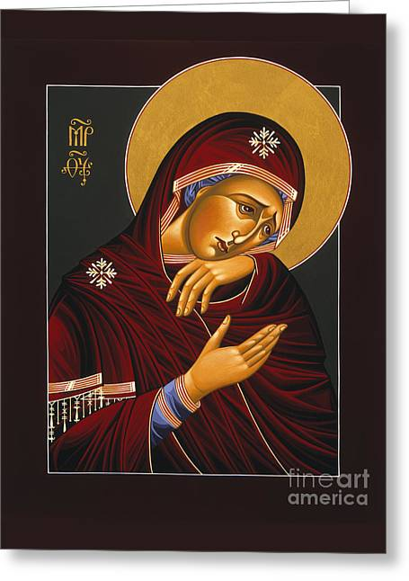 Our Lady Of Sorrows 028 Greeting Card