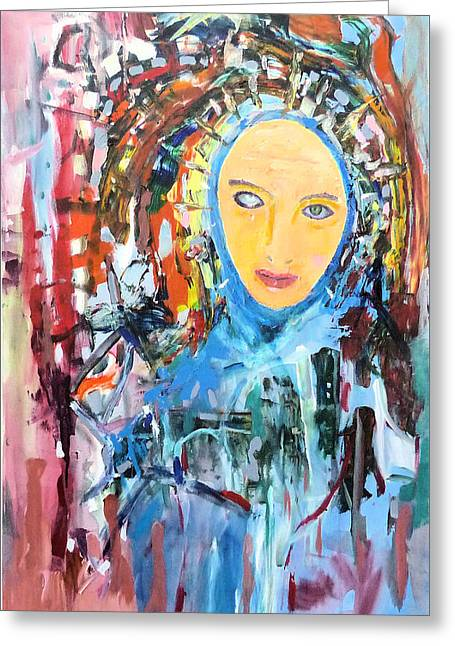 Our Lady Of The Left Eye Greeting Card