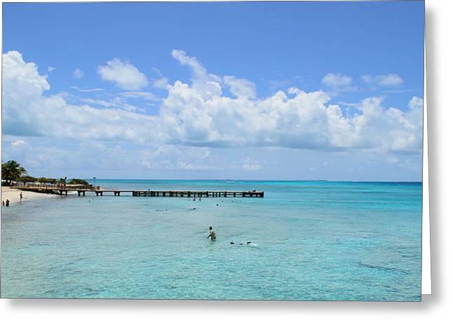 Our 2015 Spring Break  - Grand Turk Beach  Greeting Card