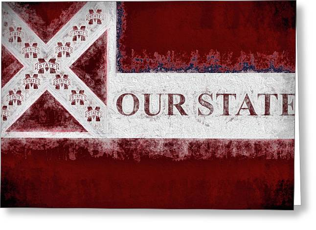 Our State Greeting Card by JC Findley