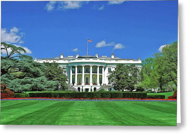 Our White House Greeting Card