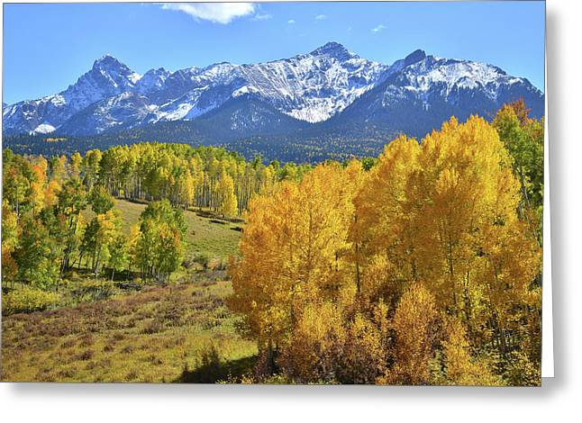 Greeting Card featuring the photograph Ouray County Road 8  by Ray Mathis