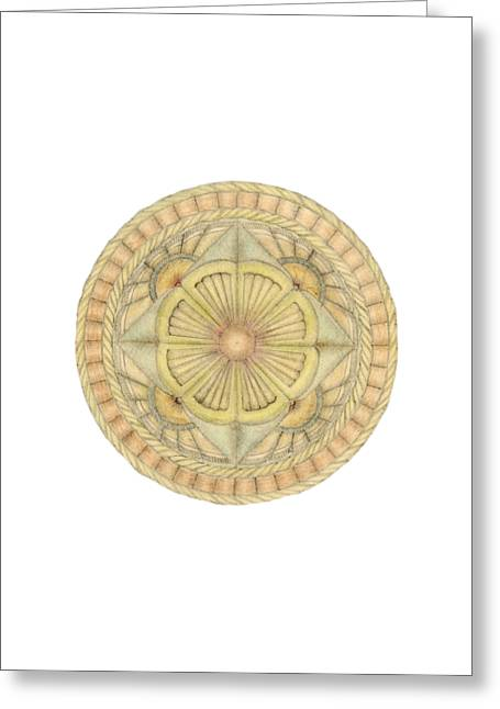 Ouroboros Ja080 Greeting Card