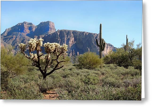 Out Arizona Way Greeting Card