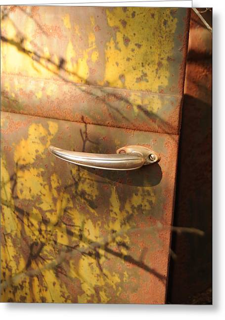 Out Doors Greeting Card by Maureen Norcross