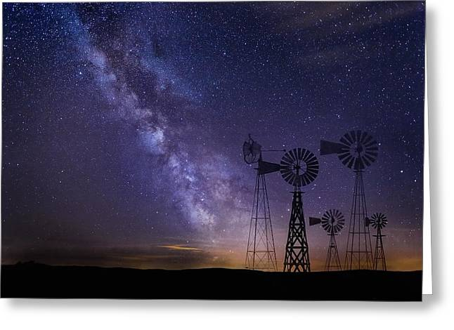 Our Milky Way  Greeting Card