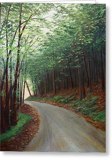 Out Of Darkness Greeting Card by Sharon Steinhaus