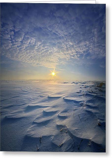 Greeting Card featuring the photograph Out Of The East by Phil Koch