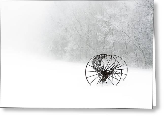 Out Of The Mist A Forgotten Era 2014 Greeting Card