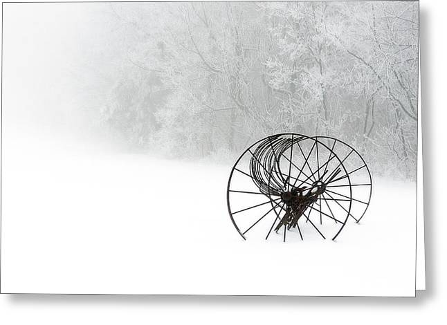 Out Of The Mist A Forgotten Era 2014 II Greeting Card