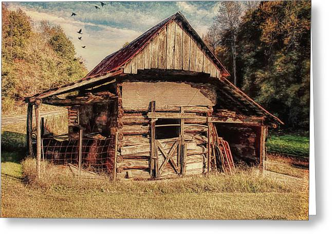 Out To Pasture 2 Greeting Card by Bellesouth Studio