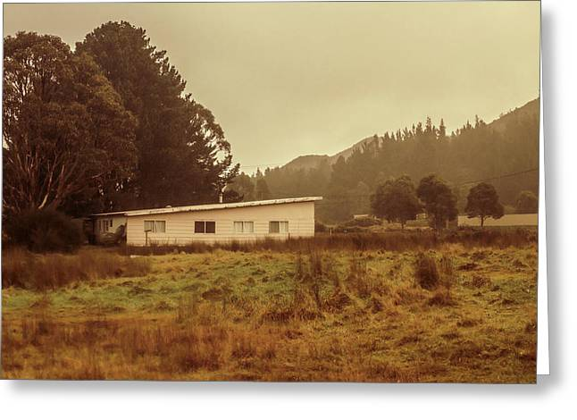 Outback Australia House Greeting Card by Jorgo Photography - Wall Art Gallery