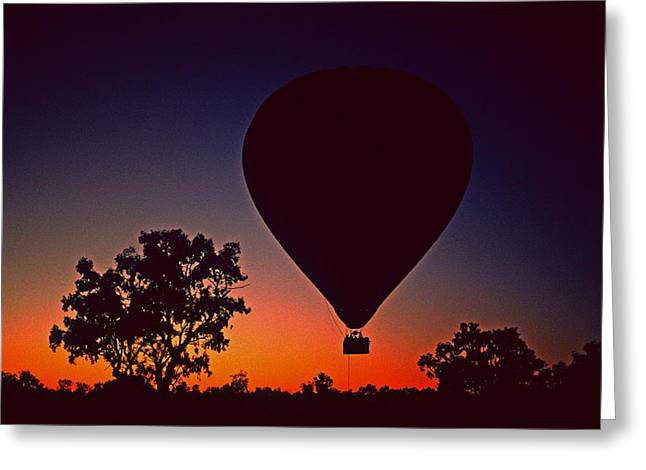 Outback Balloon Launch Greeting Card