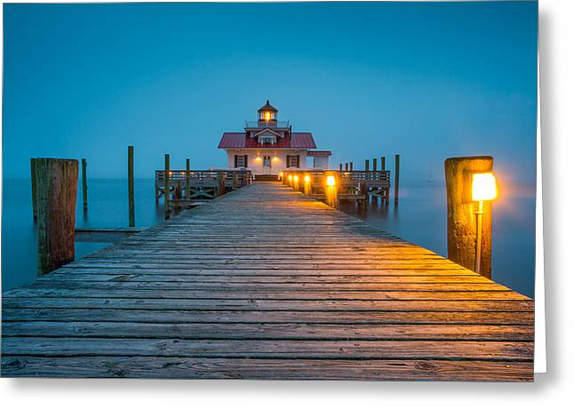 Outer Banks Manteo Nc Roanoke Marshes Lighthouse Obx North Carolina Greeting Card
