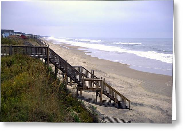 Outer Banks Greeting Card by Patrick  Flynn