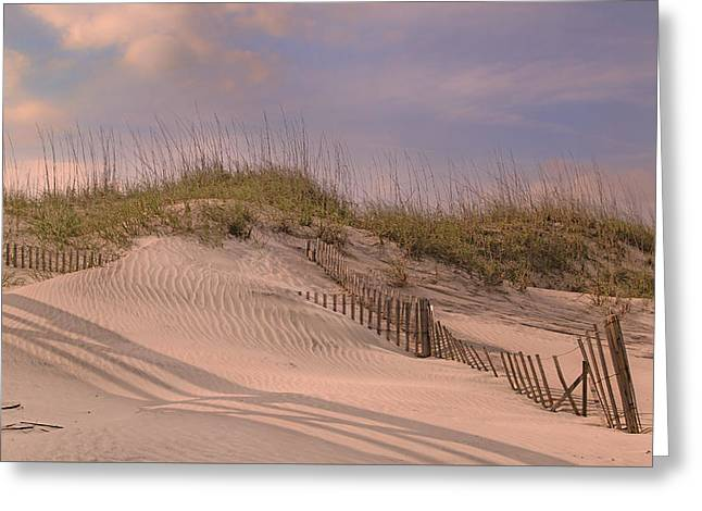 Outer Banks Rule Greeting Card by Betsy Knapp