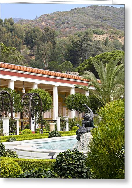 Outer peristyle garden getty villa photograph by keith mucha for Outer garden