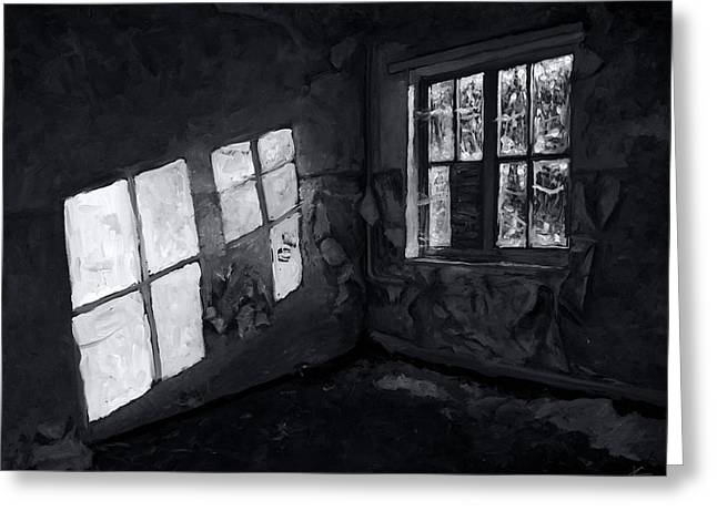 Outside Looking In Greeting Card by Christian Klute