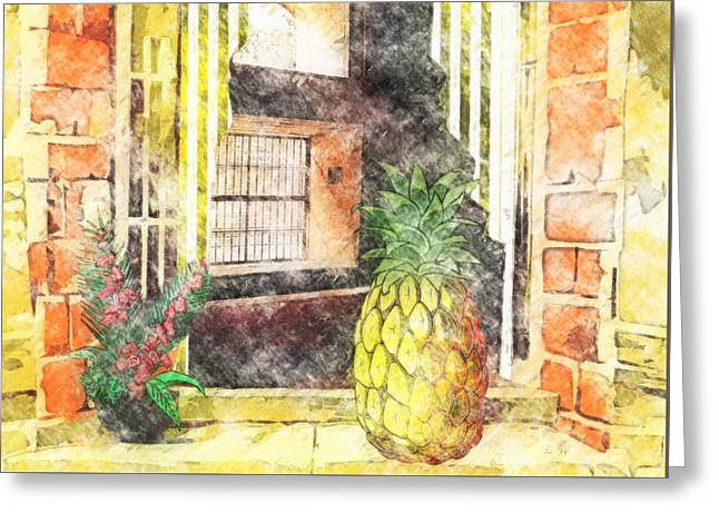 Outside Looking In Greeting Card