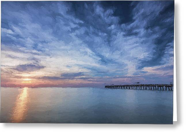 Outside Today II Greeting Card by Jon Glaser