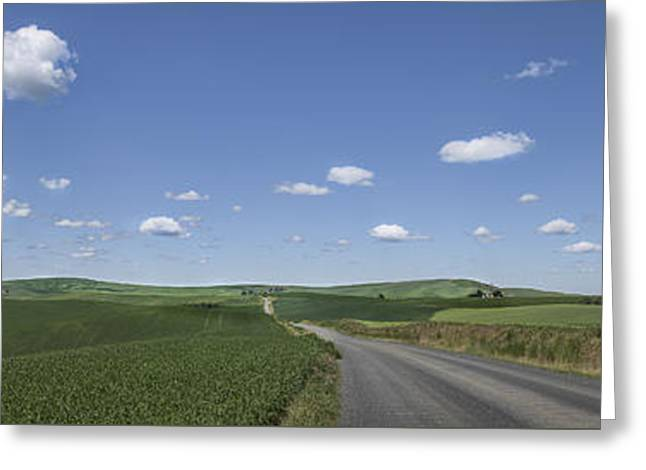 Outskirts On The Palouse Greeting Card