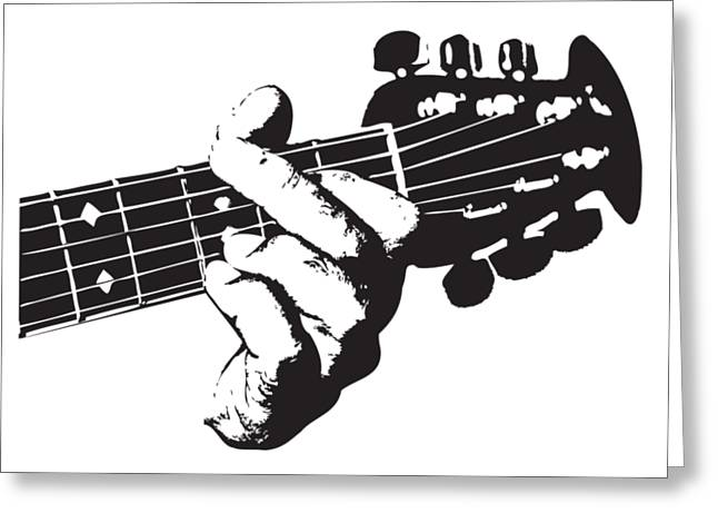Ovation Guitar Greeting Card