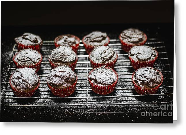 Oven Fresh Cupcakes Greeting Card by Jorgo Photography - Wall Art Gallery