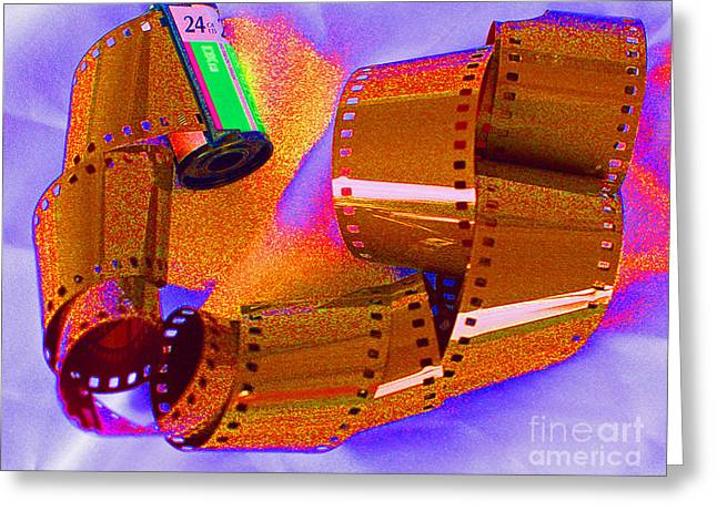 Over-exposed Greeting Cards - Over Exposed Greeting Card by Joan Powell