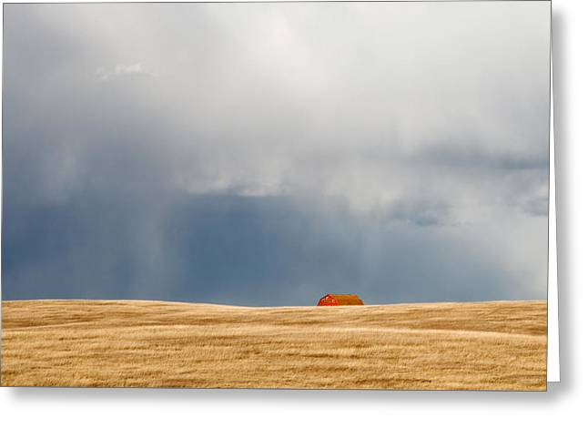 Over The Horizon Greeting Card by Todd Klassy