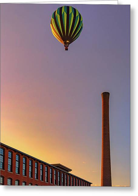 Over The Old Mill Greeting Card