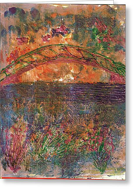 Over The River And Through The Woods Greeting Card