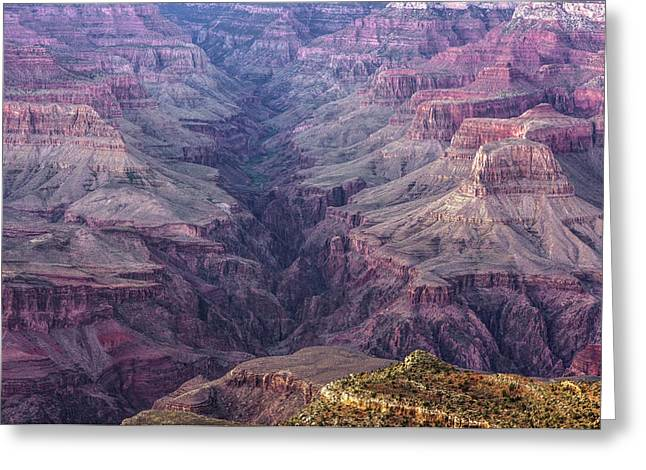 Over The Years - Grand Canyon, Arizona Greeting Card